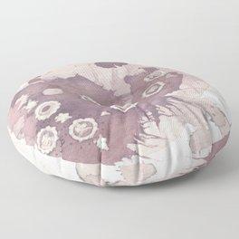 Polka Fleur Floor Pillow