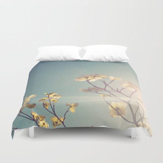 White Light Duvet Cover