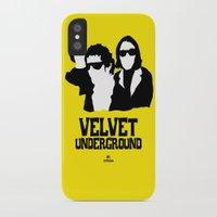 velvet underground iPhone & iPod Cases featuring VELVET UNDERGROUND Y by zzglam