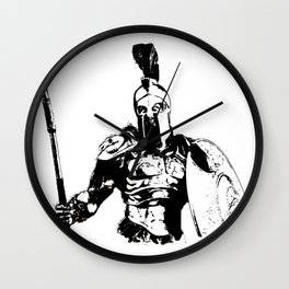 Battleborn, Spartan Warrior Wall Clock