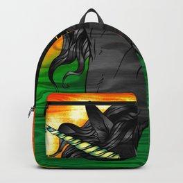 Jamaican Unicorn Backpack