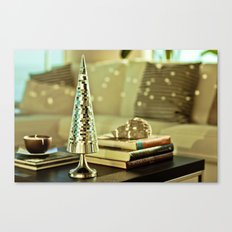 Disco Tree Canvas Print
