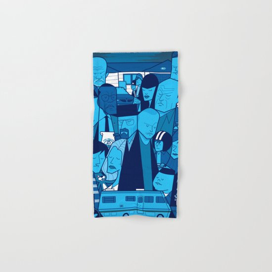Breaking Bad (blue version) Hand & Bath Towel
