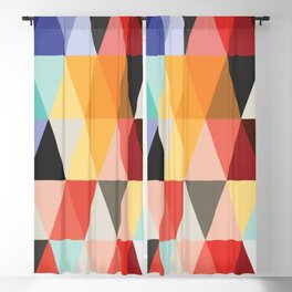 Mid-Century Modern Color Story Blackout Curtain