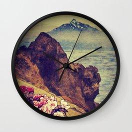 As Dusk Settles in Daiino Wall Clock