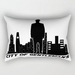City of gentleman's Rectangular Pillow
