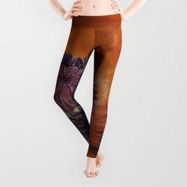 Red Poppy Leggings