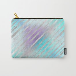 Pastel Tiger Stripes Carry-All Pouch
