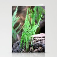fern Stationery Cards featuring fern by  Agostino Lo Coco