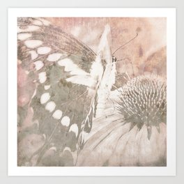 butterfly haze Art Print