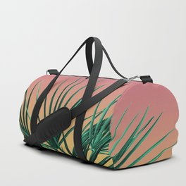 Vaporwave Palm Life - Miami Sunset Duffle Bag