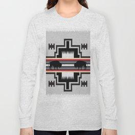 American Native Pattern No. 25 Long Sleeve T-shirt