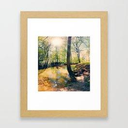 I Wish I Had A River I Could Sail Away On Framed Art Print