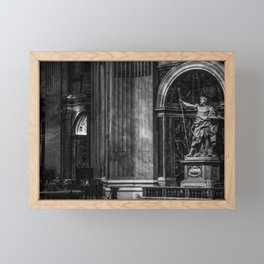 Inside The Vatican Framed Mini Art Print