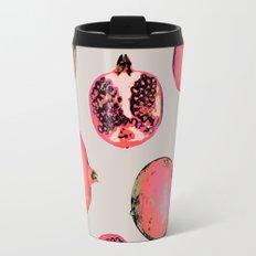 Pomegranate Pattern Travel Mug