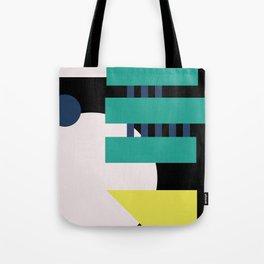 MidMod Shapes (series 3) Night Tote Bag