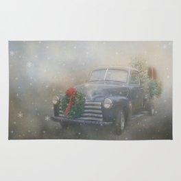 Winter Blues Rug