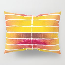 Warm Earth Watercolor Pillow Sham