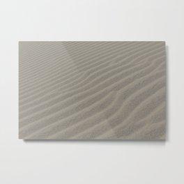 Sand Waves Metal Print
