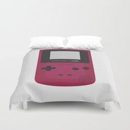 Game Boy Color - Purple Duvet Cover