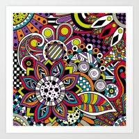 sasha grey Art Prints featuring Sasha. by Digi Treats 2