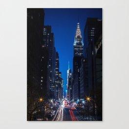 Tudor City Views, New York City Canvas Print