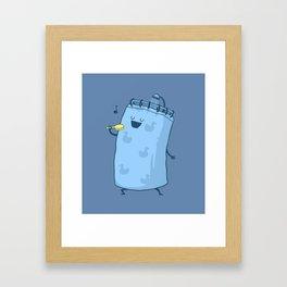 Singing In The Shower? Framed Art Print