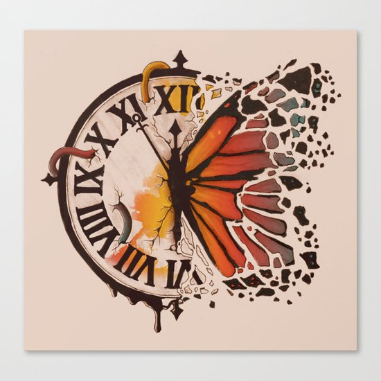 A Ruptured Time Canvas Print
