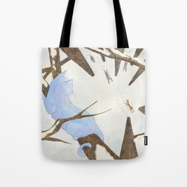 The Cat and The Fox Tote Bag