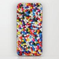 sprinkles iPhone & iPod Skins featuring Sprinkles by Tanya Dawn Art