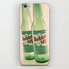 bubble up iPhone Skin