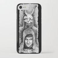 donnie darko iPhone & iPod Cases featuring Donnie Darko Scribble Portrait by Gabriel Saint