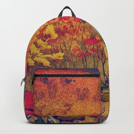 Autumn Baths in Kaanaii Backpack
