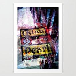 The China Pearl Art Print