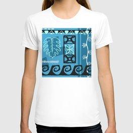 Hawaiian Pattern #1 - aqua! T-shirt