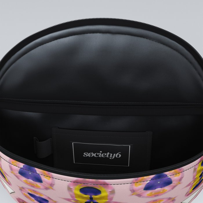 Abstract Pink Acrylic Pattern Fanny Pack