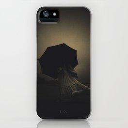 Black Voyage iPhone Case
