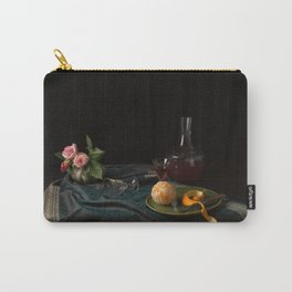Orange and roses still life Carry-All Pouch