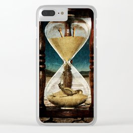 Sands of Time ... Memento Mori Clear iPhone Case