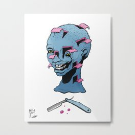 Bad Barber  Metal Print
