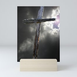 The Old Rugged Cross Mini Art Print