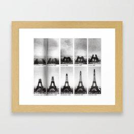 La Tour Eiffel #society6 #home Framed Art Print