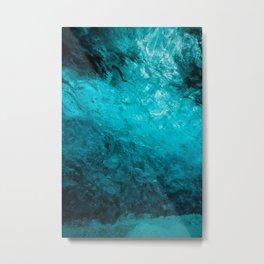 Ice Cave01 Metal Print