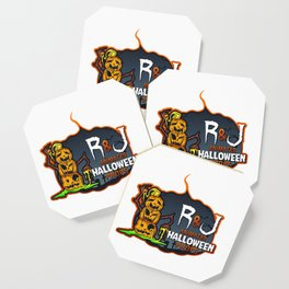 R and J logo white Coaster