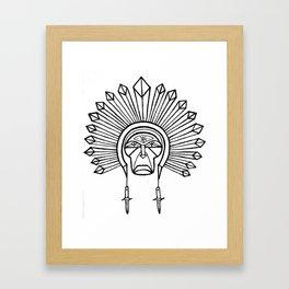 chief switchblade Framed Art Print