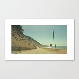 Cabrillo Hwy Canvas Print