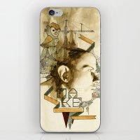 architect iPhone & iPod Skins featuring The Architect by Joshua Kulchar