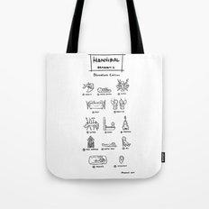 Hannibal - Season 1: Bloodless Edition! Tote Bag