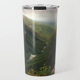 Canyon of Waterfalls Travel Mug