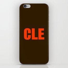 Cleveland iPhone Skin